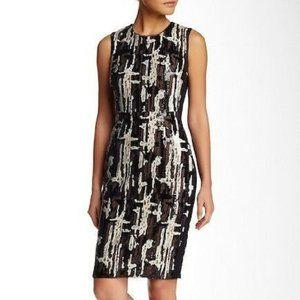 "BCBG ""Larisa"" Sequin Sheath Dress - Size 4"